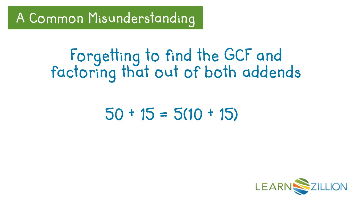 Factoring by gcf worksheet practice b