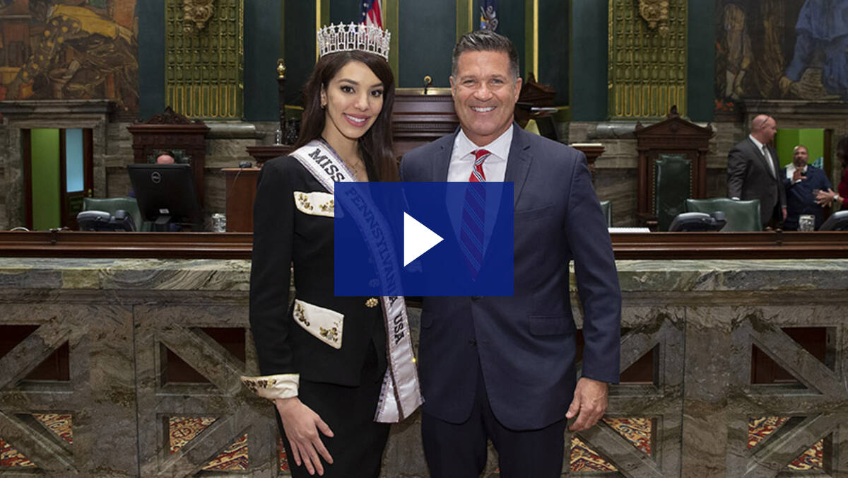 3/19/19 – Introduction of Kailyn Perez, Miss Pennsylvania USA 2019