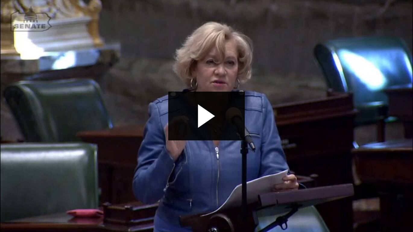 Senator Boscola's Floor Remarks on Addressing Her Recent Letter to Governor Wolf on Moving the Lehigh Valley to Yellow:: May 12, 2020