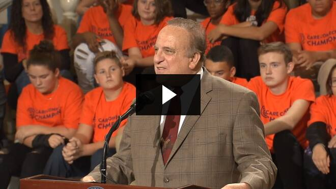 Sen. Dinniman Calls for an End to Bullying :: October 29, 2019