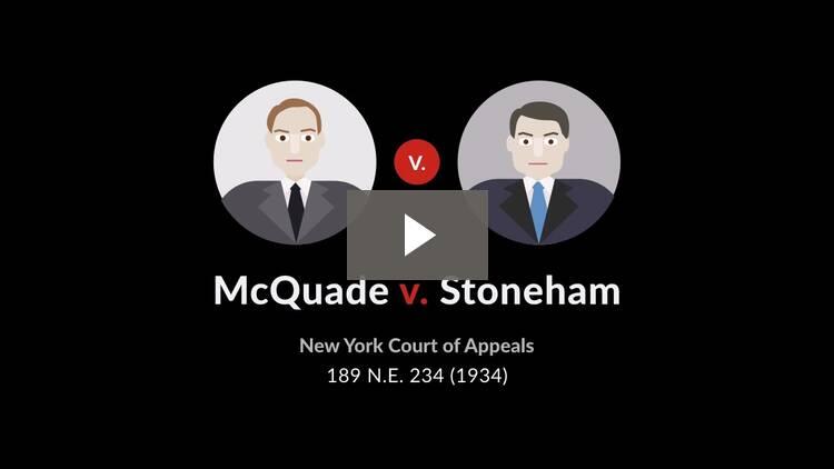 McQuade v. Stoneham
