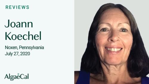 Testimonial thumbnail portrait of Joann Koechel