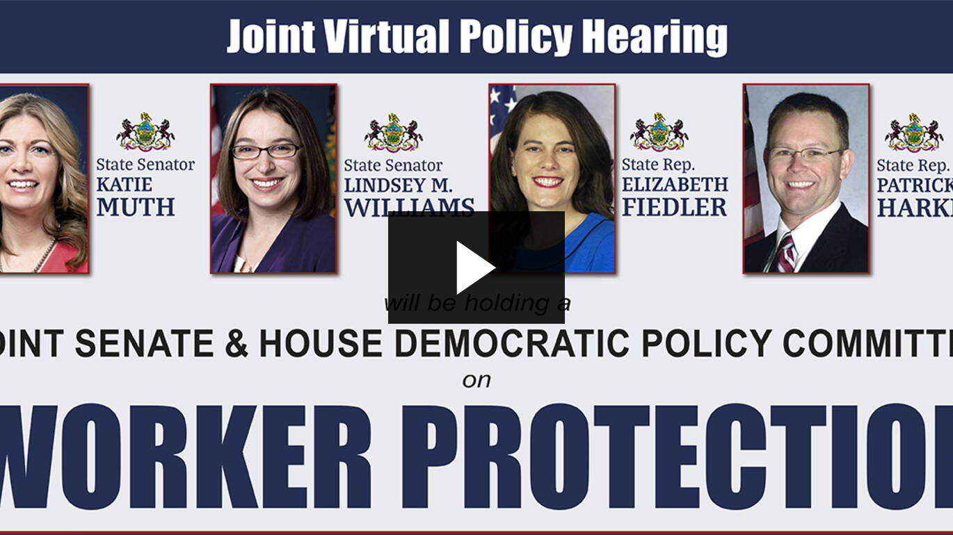 Policy Hearing on Worker Protection :: July 22, 2020
