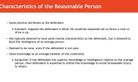 General Reasonable Person Standard thumbnail