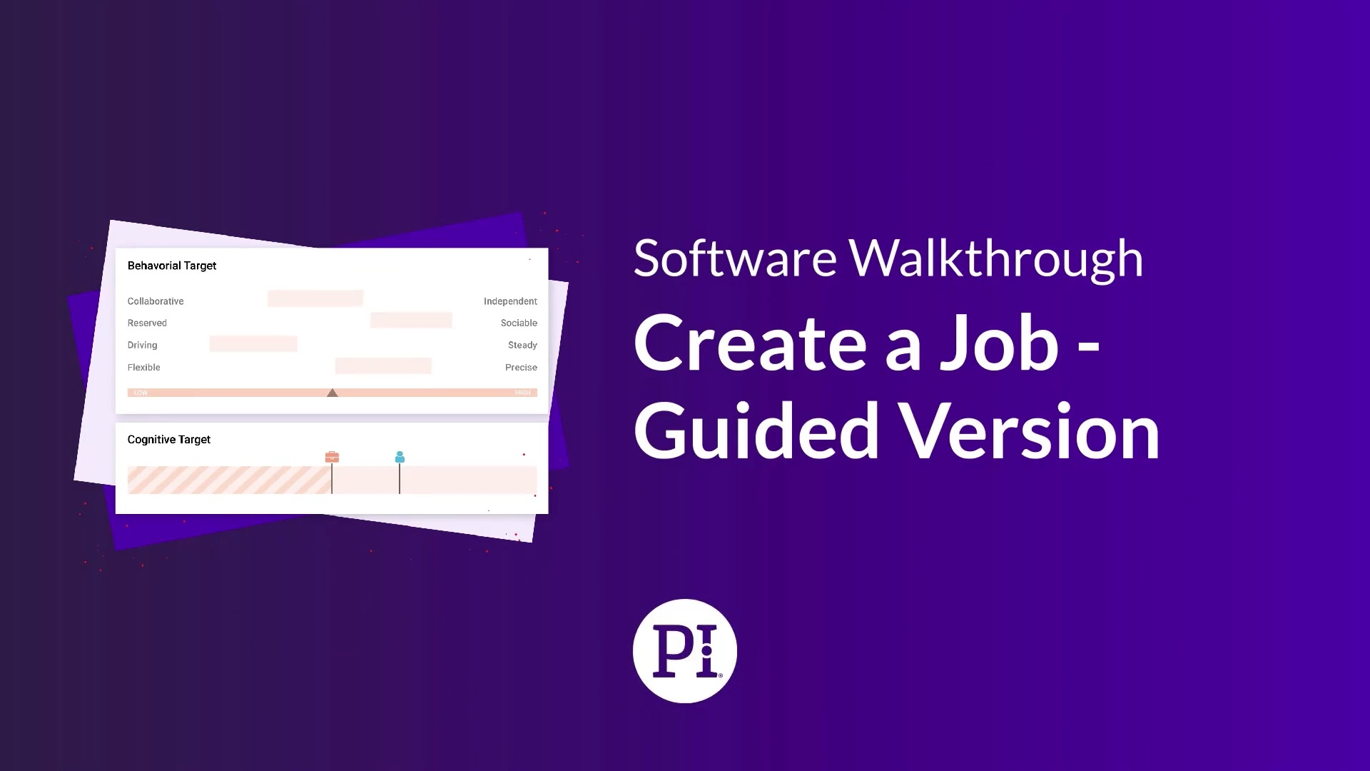 Create Job - Guided Version