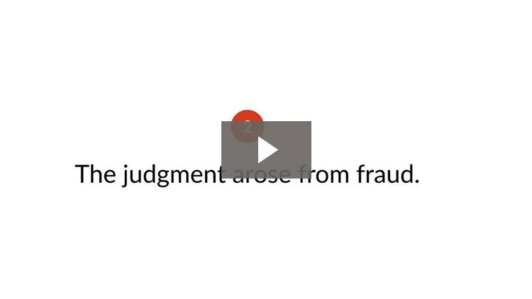 Recognizing and Enforcing Judgments from Foreign Countries