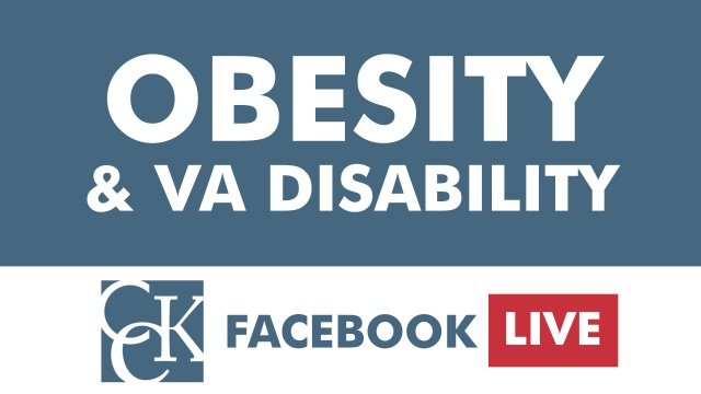 Obesity and VA Disability Compensation – Video