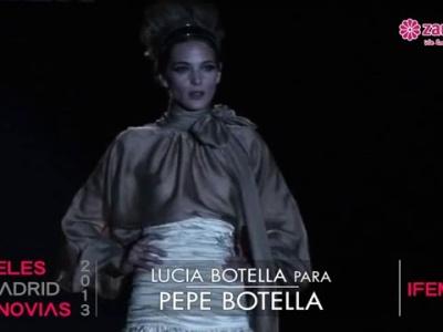 Atemberaubende Brautkleider von Pepe Botella aus der Kollektion 2013 frisch vom Laufsteg
