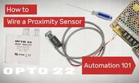 Automation 101: Wire a Proximity Sensor