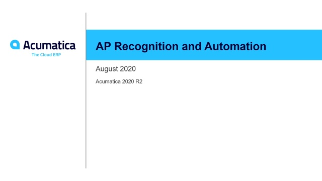 AP Recognition and Automation