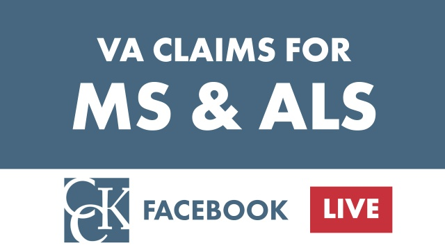 Multiple Sclerosis (MS) and Amyotrophic Lateral Sclerosis (ALS) Claims at VA