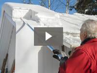 Video for SnowPeeler Roof Rake