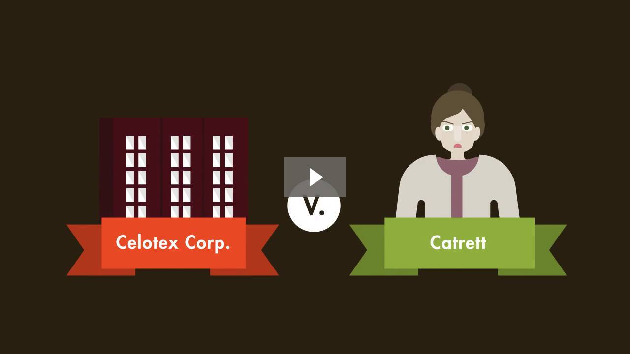 Celotex Corp. v. Catrett