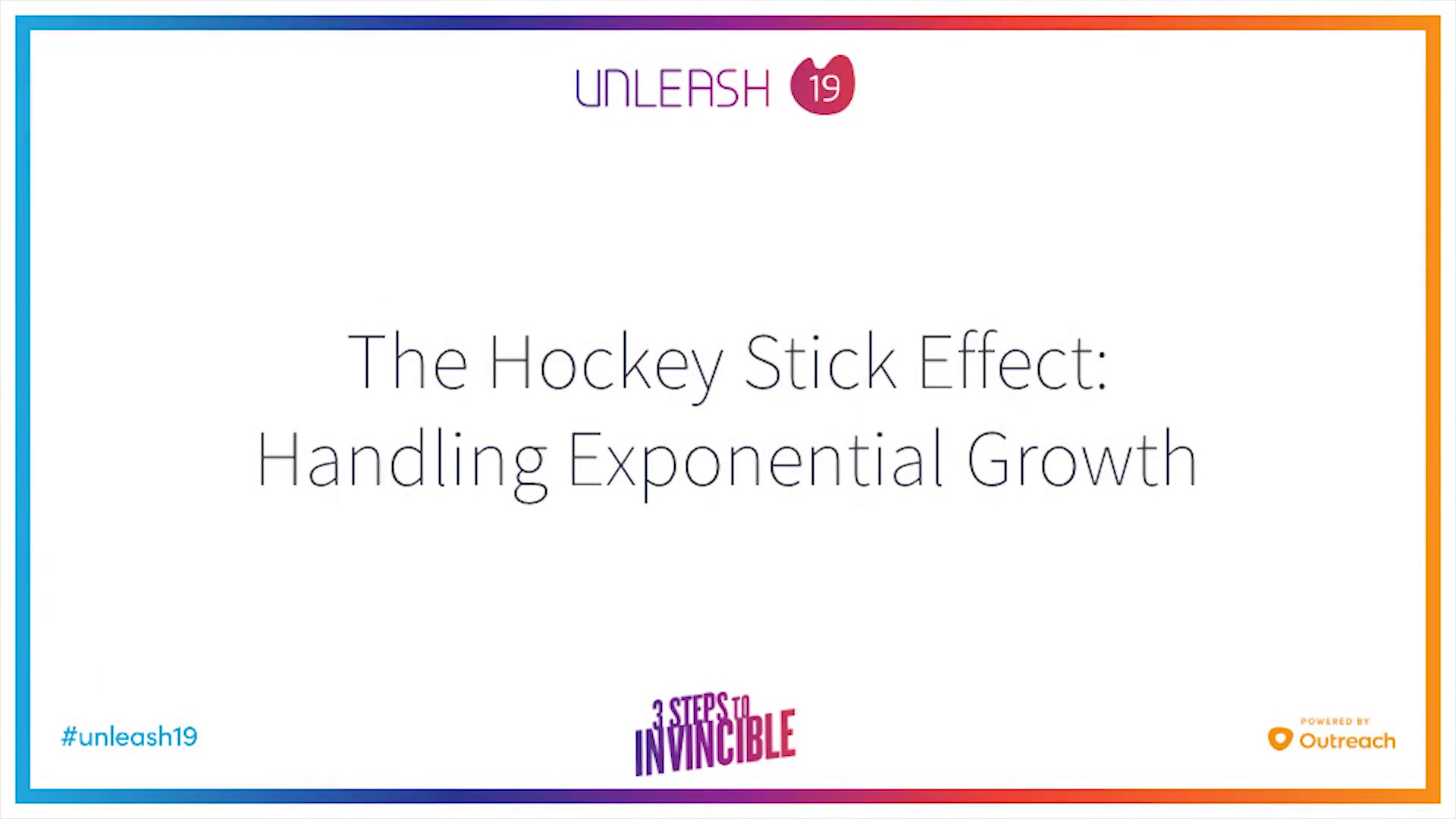 The Hockeystick Effect - Handling Exponential Growth