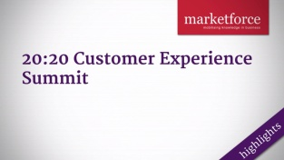 20:20 Customer Experience Summit Highlights