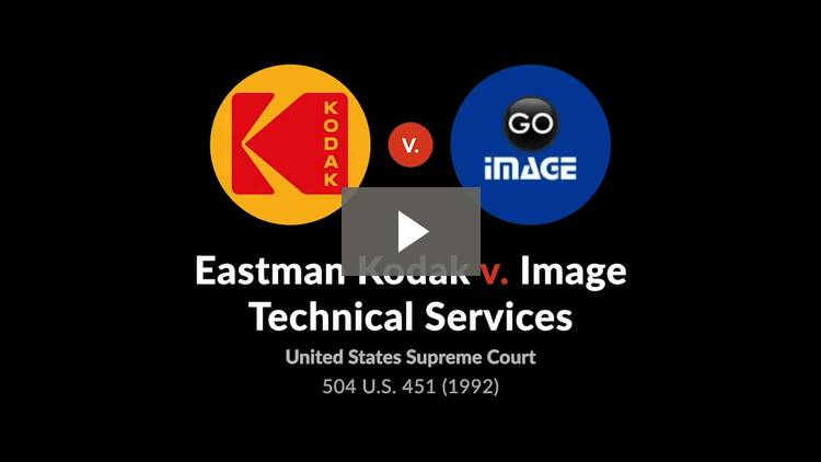 Eastman Kodak Co. v. Image Technical Services, Inc.