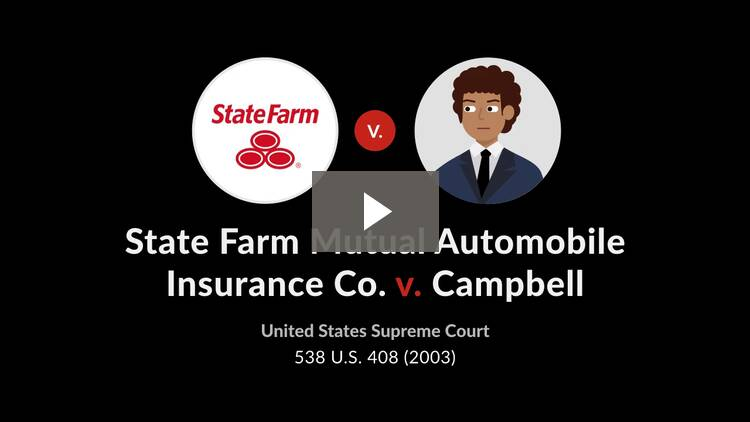 State Farm Mutual Automobile Insurance Co. v. Campbell