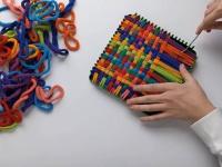 Video: Friendly Loom™ by Harrisville Designs | Design & Create Potholder Loom Kit
