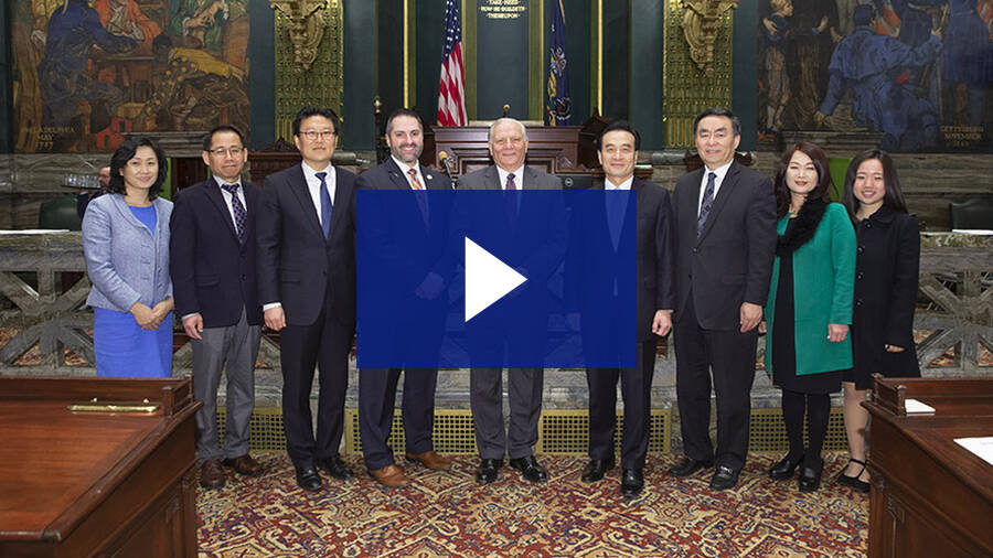 3/27/19 – Introduction of Ambassador of the Republic of Korea Hyo-Sung Park