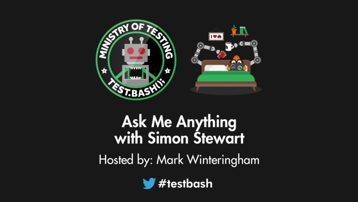 Ask Me Anything - Simon Stewart