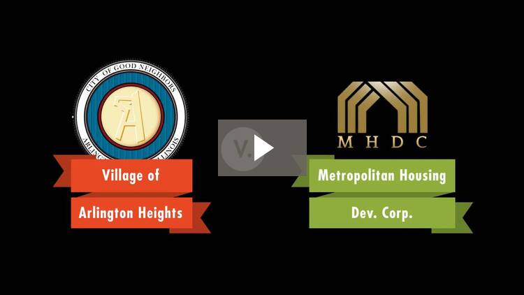 Village of Arlington Heights v. Metropolitan Housing Development Corp.