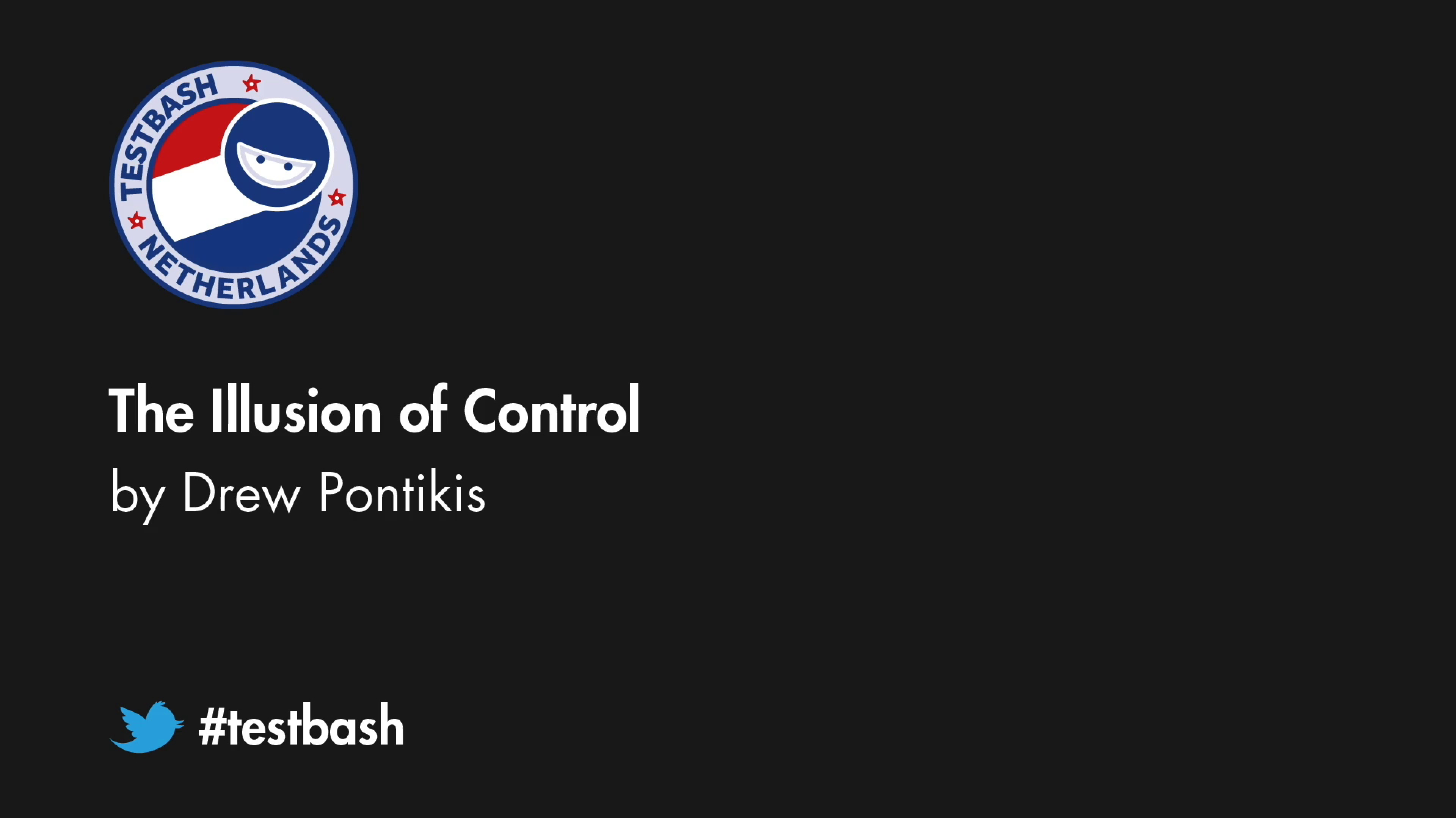 The Illusion of Control - Drew Pontikis