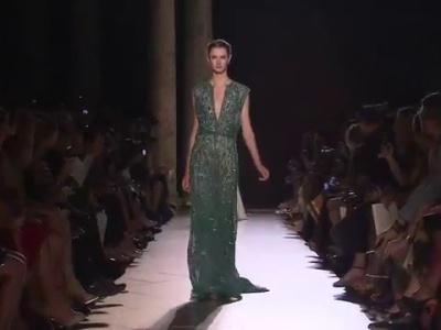 Défilé haute couture Elie Saab 2013