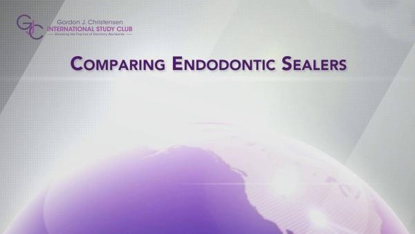 Q119 Comparing endodontic sealers