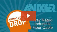 Tray Rated Fiber Optic Cables