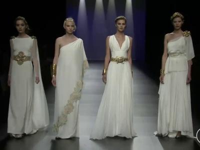 Desfile de Matilde Cano 2016: diosas del Olimpo
