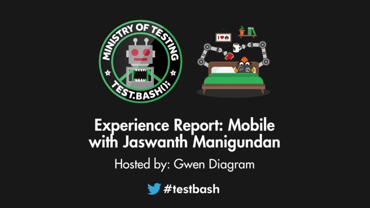 Experience Report: Mobile - Jaswanth Manigundan