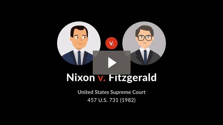 Richard Nixon v. A. Ernest Fitzgerald
