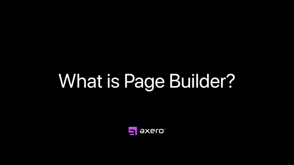 What is Page Builder?