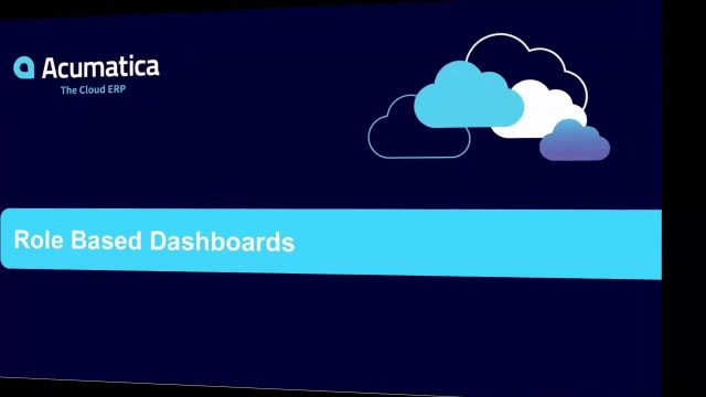 Role Based Dashboards