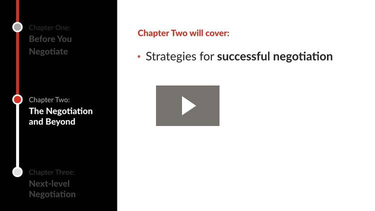 Introduction to Negotiation Essentials