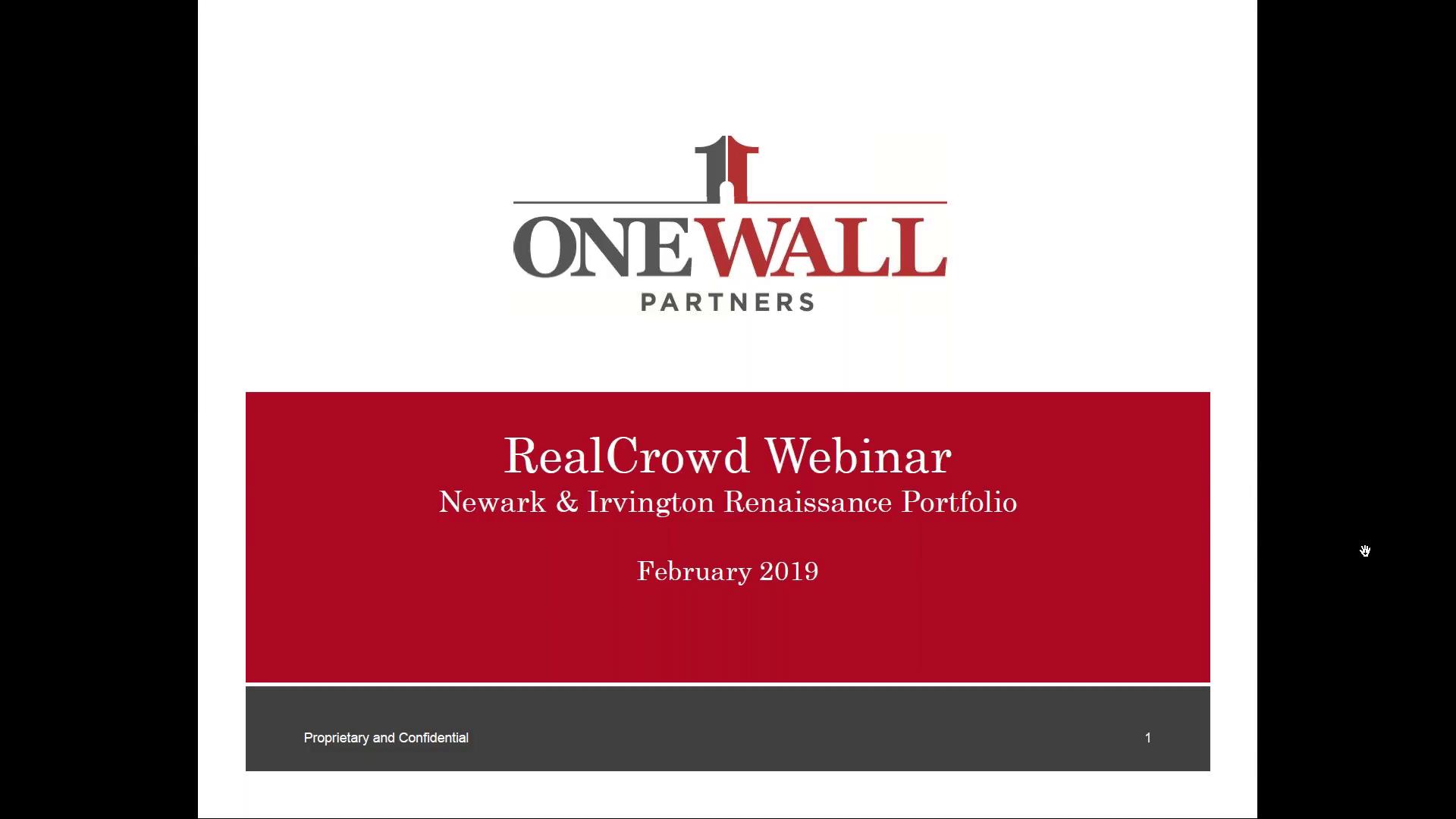 Investment Video - Newark & Irvington Renaissance Portfolio