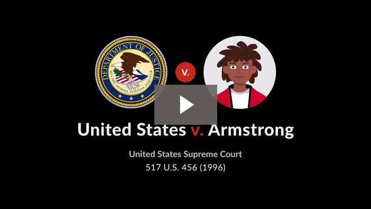 United States v. Armstrong