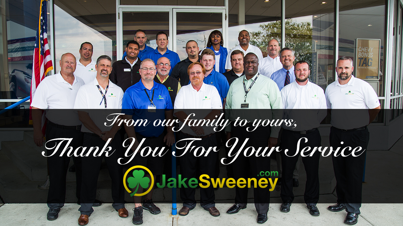 Jake Sweeney Chevrolet >> Jake Sweeney Chevrolet Offering Military Discounts In Ohio