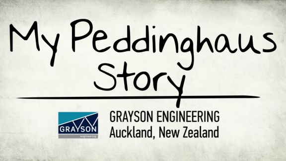 My Peddinghaus Story - Grayson Engineering - Auckland, New Zealand