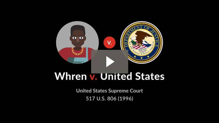 Whren v. United States