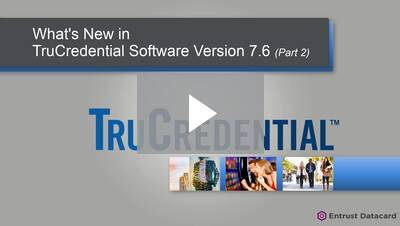 What's New in TruCredential 7.6 Part 2