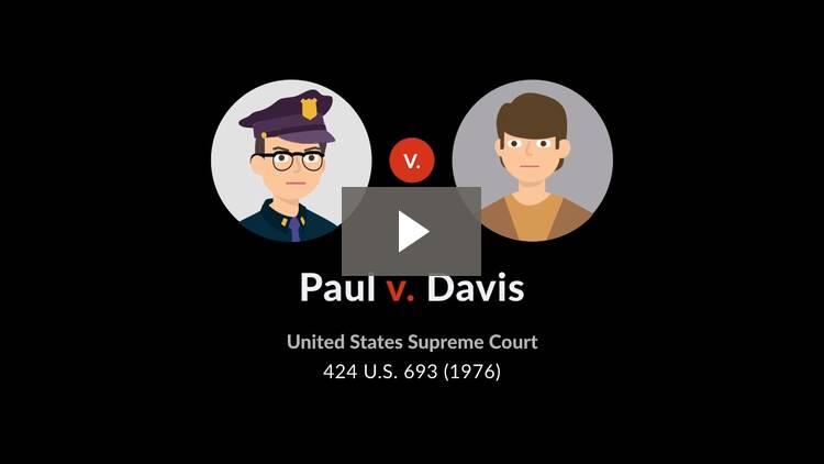 Paul v. Davis