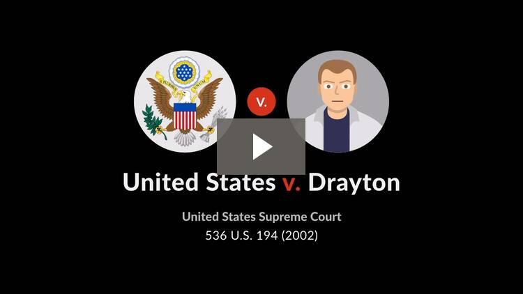 United States v. Drayton