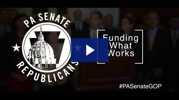 6/27/19 – Senate Republicans: Funding What Works