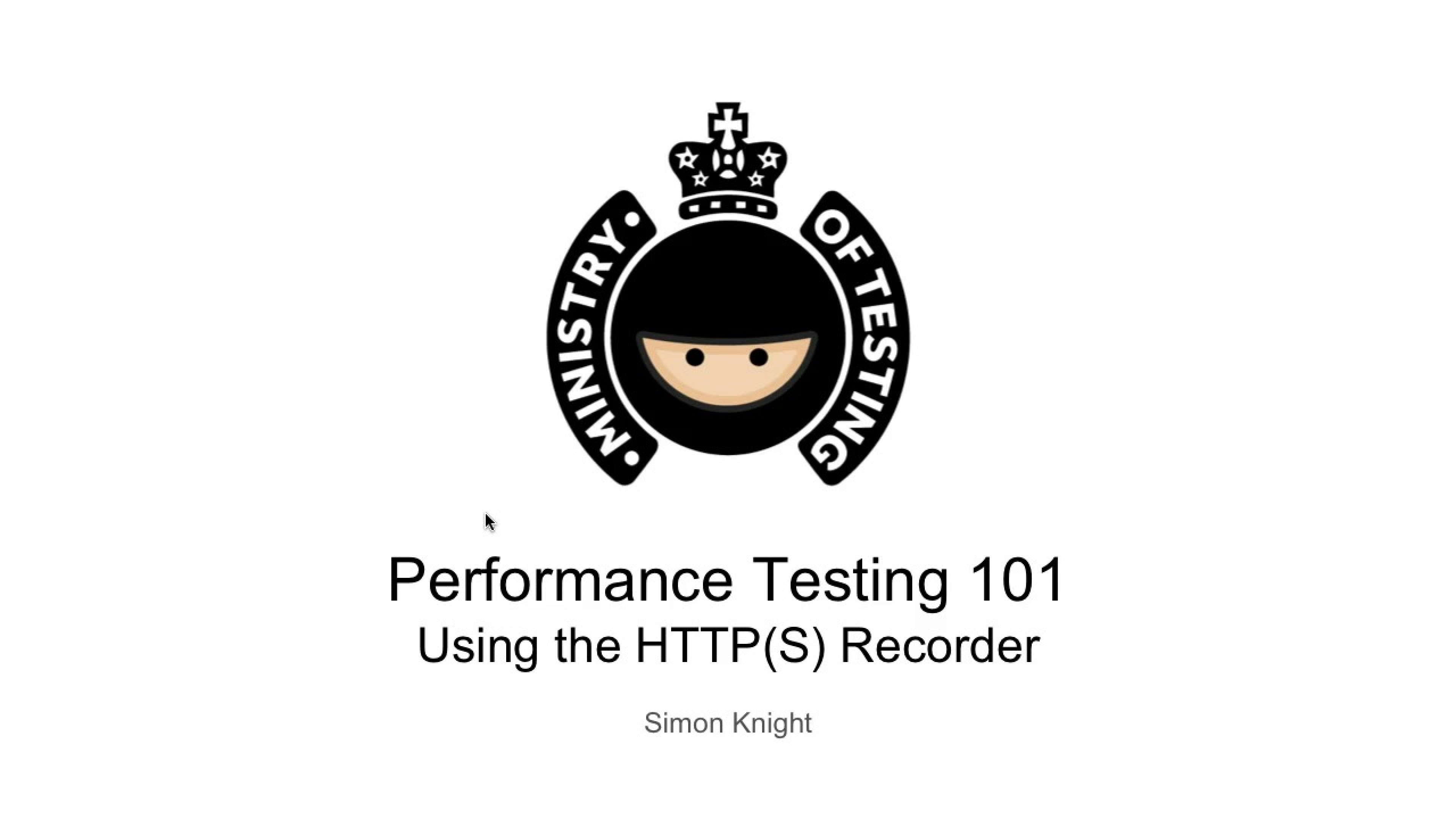 Getting Started with Scripting - Using the HTTP(S) Recorder