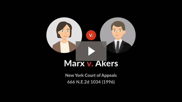 Marx v. Akers