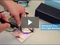 Video for Adult Blue Light Blocking Glasses