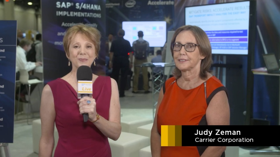 Carrier TechEd SAP-TV