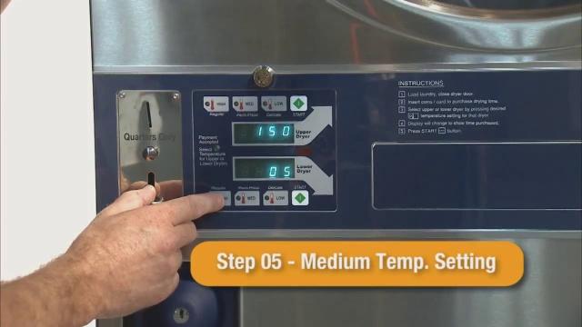 Programming the Dexter Stack Dryer