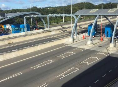 Sistema de peaje Multi-Lane Free Flow para Humber Bridge